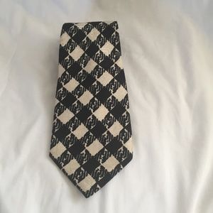 Men's Neck Tie Designer Couture LANVIN Paris Silk